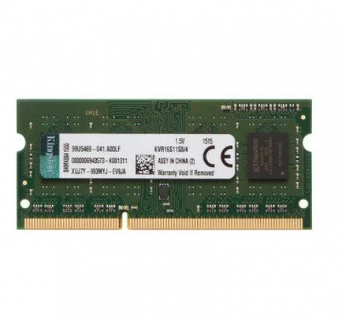 MEMORIA P/ NOTEBOOK 4GB DDR3 KINGSTON